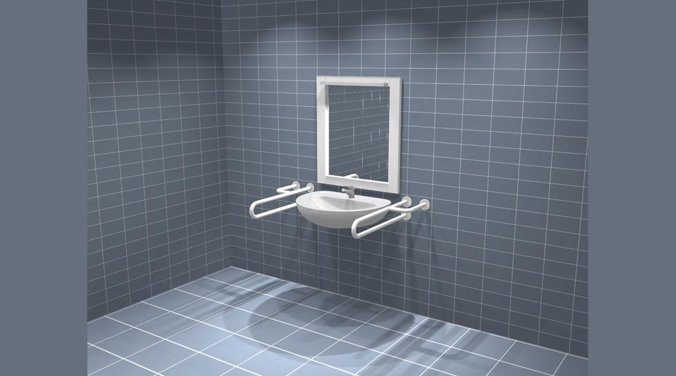 Toaleta Dla Niepełnosprawnych Wyposażenie łazienek I Wc